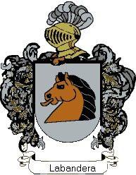 Escudo del apellido Labandera