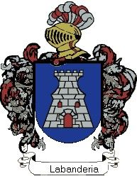 Escudo del apellido Labanderia