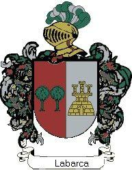 Escudo del apellido Labarca