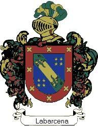 Escudo del apellido Labarcena