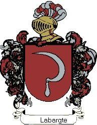 Escudo del apellido Labargte