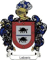 Escudo del apellido Labaris