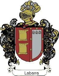 Escudo del apellido Labarra