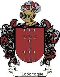 Escudo del apellido Labarraque
