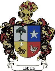 Escudo del apellido Labata
