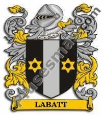 Escudo del apellido Labatt