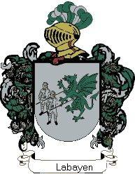 Escudo del apellido Labayen