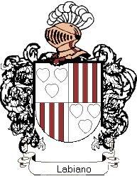 Escudo del apellido Labiano