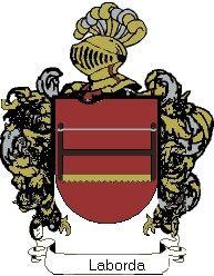 Escudo del apellido Laborda