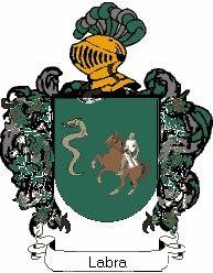 Escudo del apellido Labra