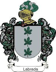 Escudo del apellido Labrada