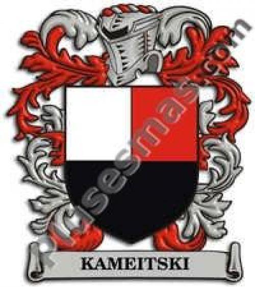 Escudo del apellido Kameitski