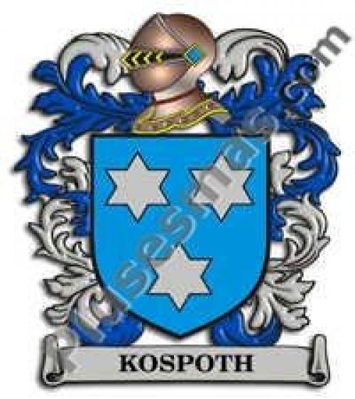 Escudo del apellido Kospoth