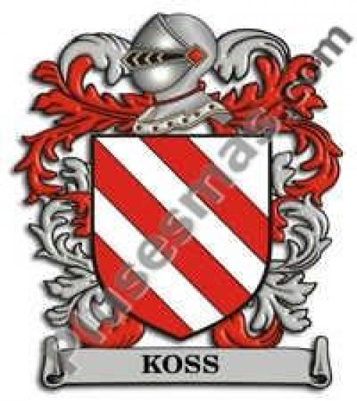 Escudo del apellido Koss