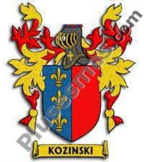 Escudo del apellido Kozinski