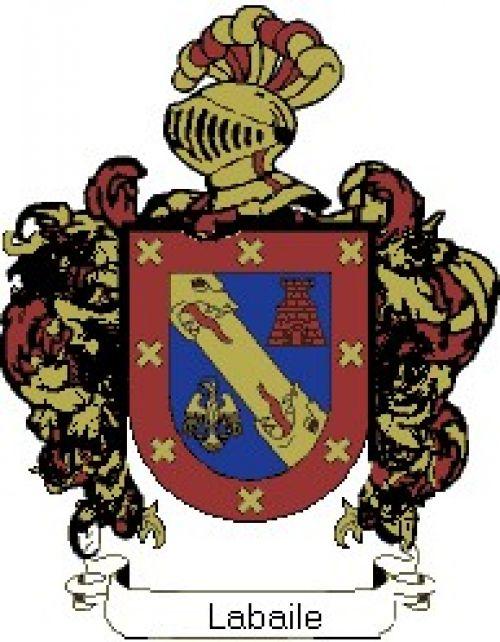 Escudo del apellido Labaile