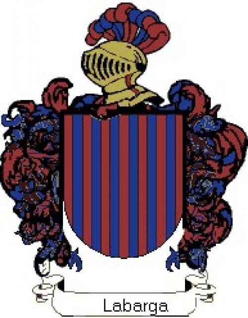 Escudo del apellido Labarga