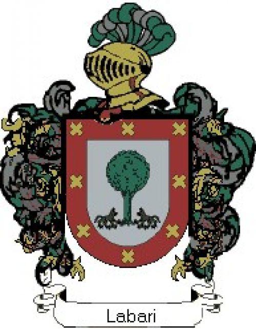 Escudo del apellido Labari