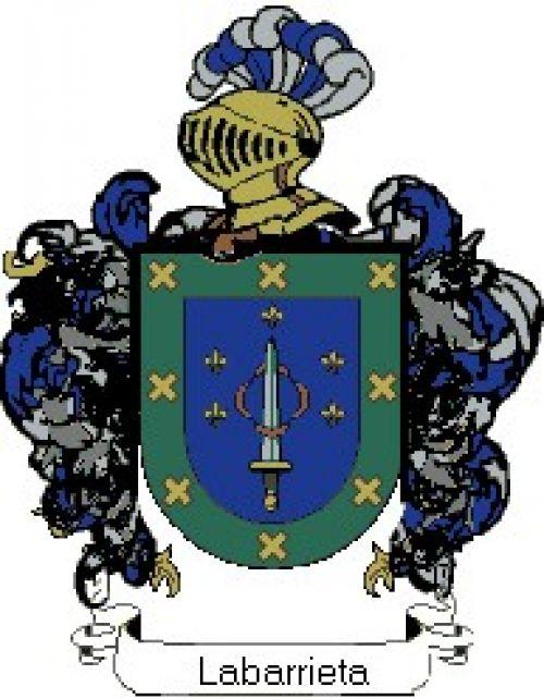 Escudo del apellido Labarrieta