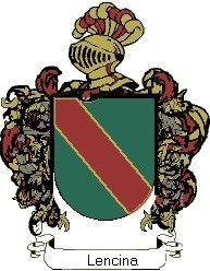 Escudo del apellido Lencina