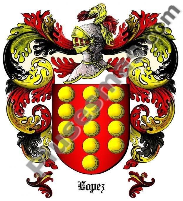Escudo del apellido López
