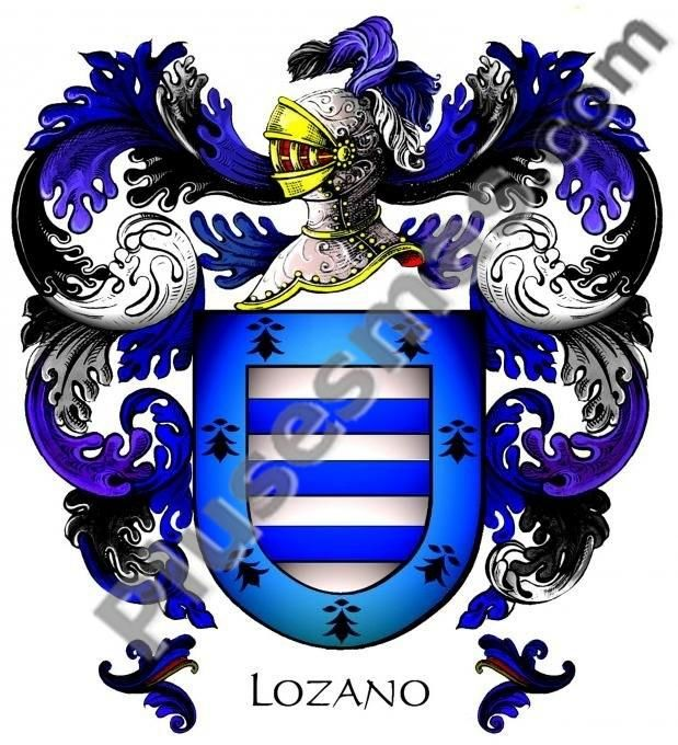 Escudo del apellido Lozano