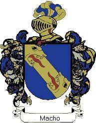 Escudo del apellido Macho