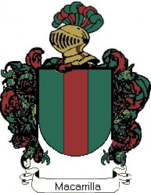 Escudo del apellido Macarrilla