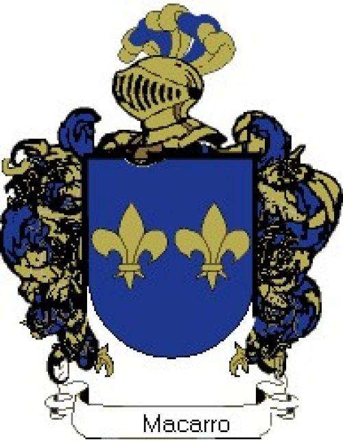 Escudo del apellido Macarro