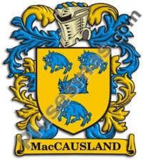 Escudo del apellido Maccausland