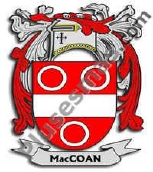 Escudo del apellido Maccoan