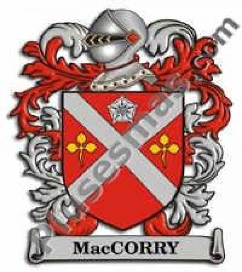 Escudo del apellido Maccorry