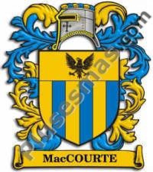 Escudo del apellido Maccourte