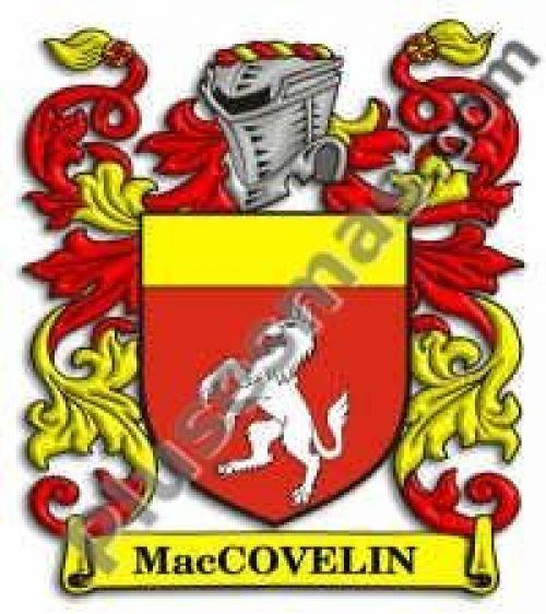 Escudo del apellido Maccovelin
