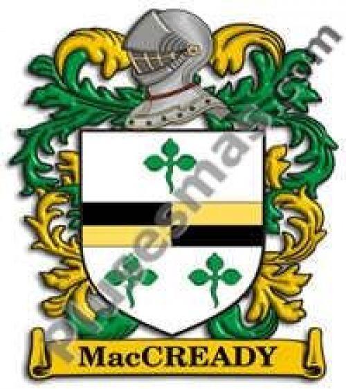 Escudo del apellido Maccready