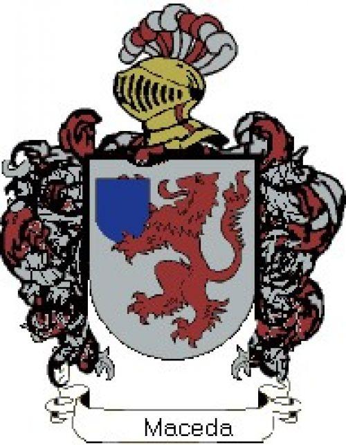 Escudo del apellido Maceda
