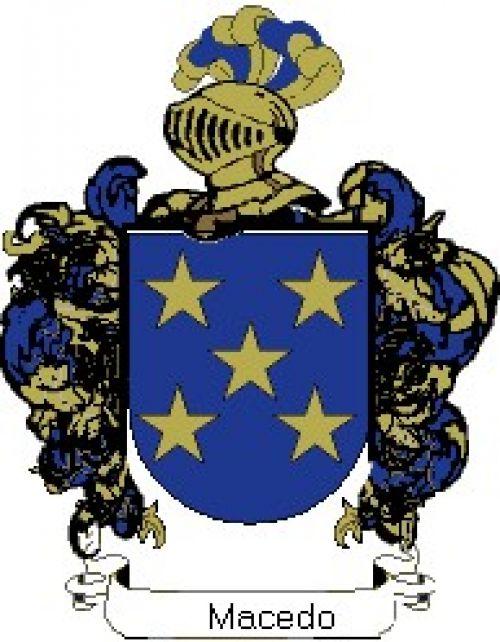 Escudo del apellido Macedo