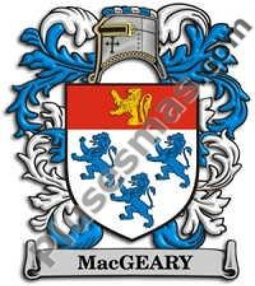 Escudo del apellido Macgeary