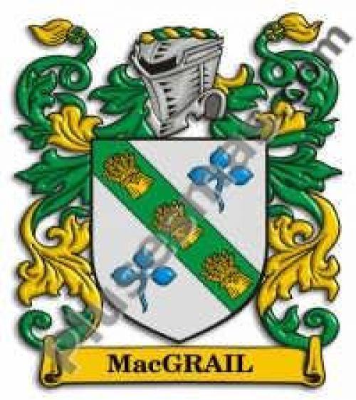 Escudo del apellido Macgrail