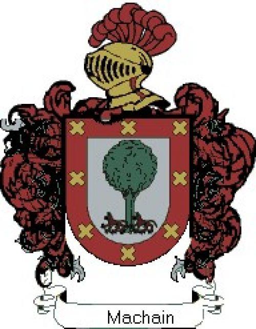 Escudo del apellido Machain