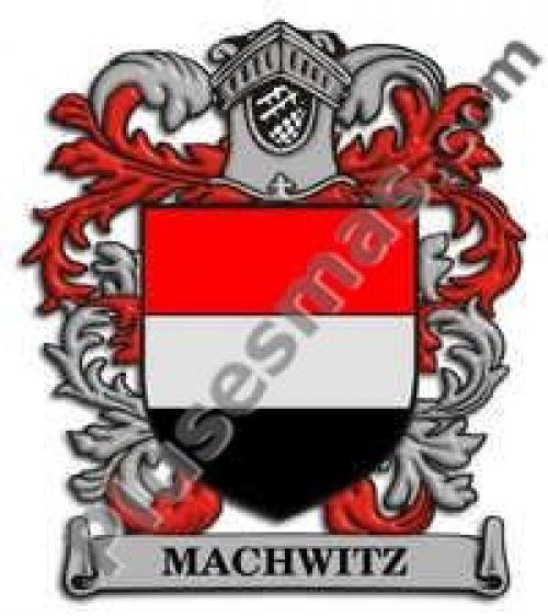 Escudo del apellido Machwitz