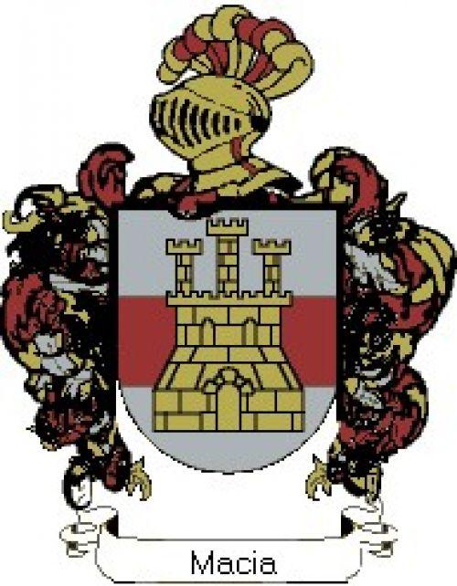Escudo del apellido Macia
