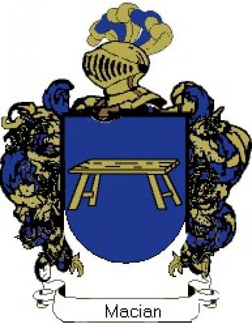 Escudo del apellido Macian
