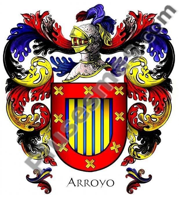 Escudo del apellido Arroyo
