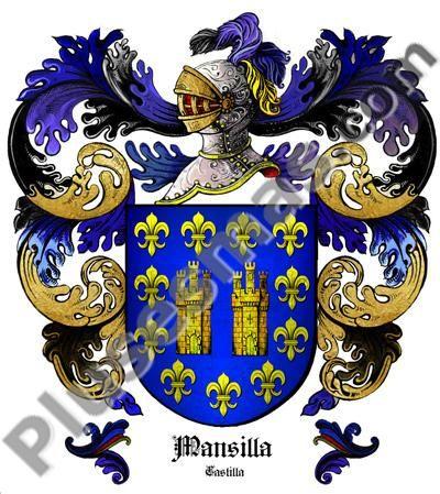 Escudo del apellido Mansilla