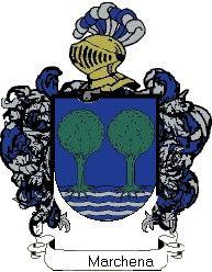 Escudo del apellido Marchena