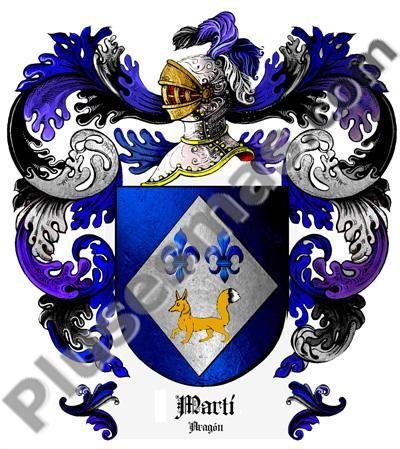 Escudo del apellido Martí
