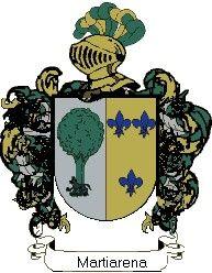 Escudo del apellido Martiarena
