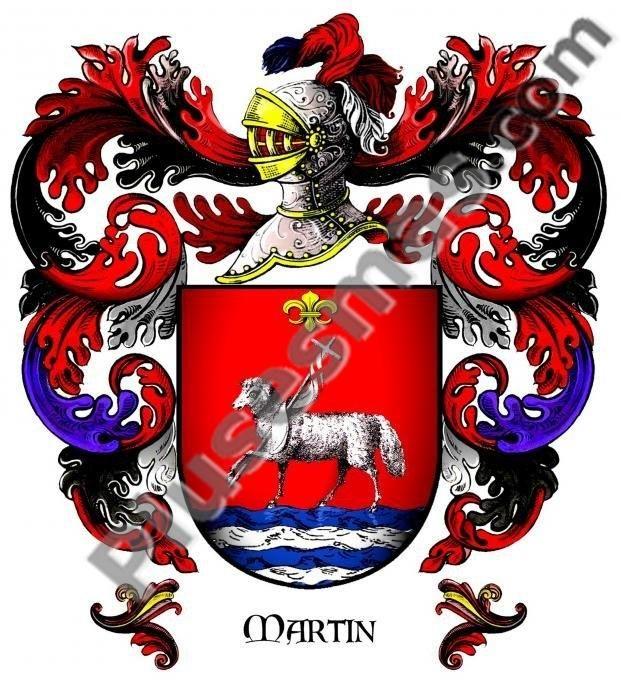 Escudo del apellido Martín