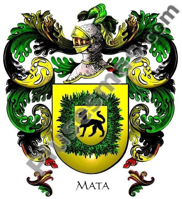 Escudo del apellido Mata
